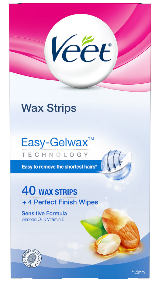VEET® Easy-Gelwax™ Kit Sensitive Formula - Part 2 Wipes (Canada)