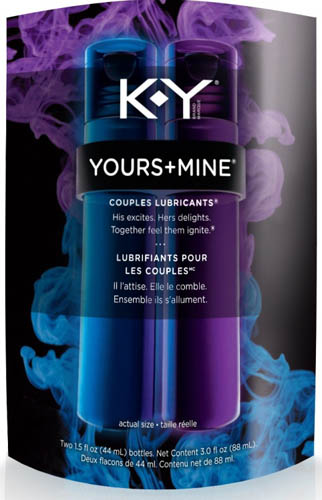 KY Yours  Mine Couples Lubricants  His Photo