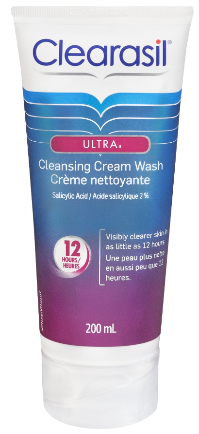 CLEARASIL® Ultra® Cleansing Cream Wash