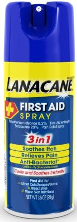 LANACANE® First Aid Spray (USA)