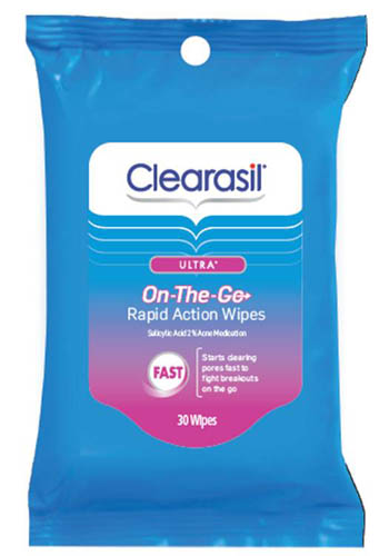 CLEARASIL® Ultra® On-The-Go Rapid Action Wipes