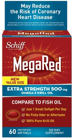 MegaRed® Omega-3 Krill Oil Extra Strength Softgels - 500 mg