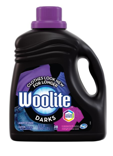 WOOLITE Darks Laundry Detergent  Midnight Breeze Scent Photo