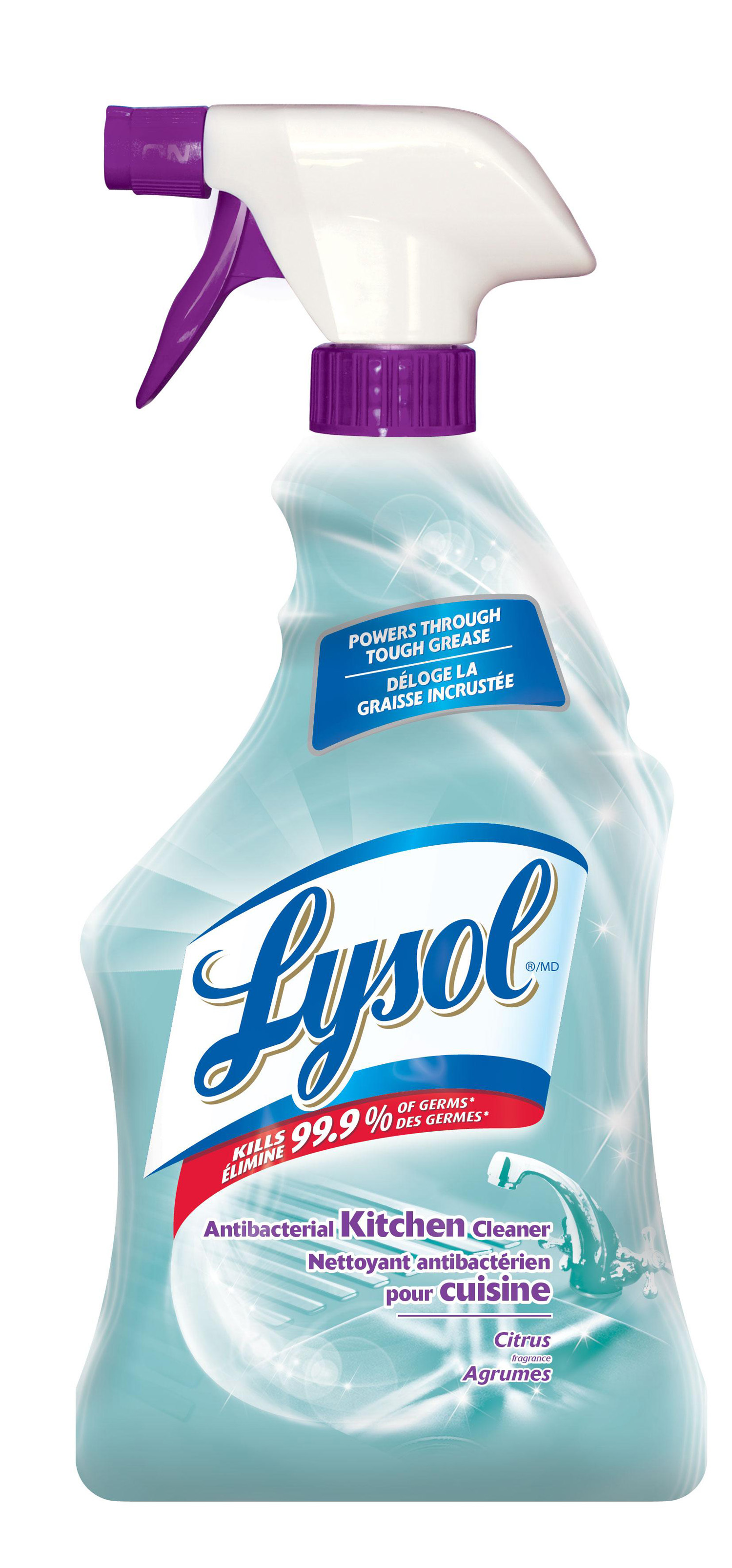 LYSOL Antibacterial Kitchen Cleaner Citrus Scent Canada - Kitchen cleaner
