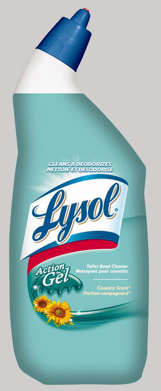 LYSOL® Action Gel Toilet Bowl Cleaner - Country Scent (Canada)