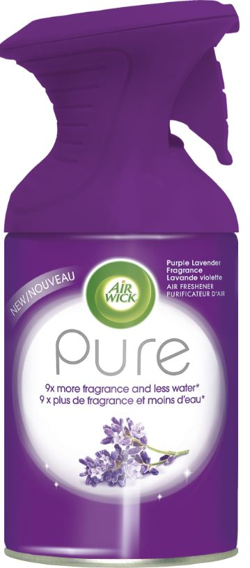 AIR WICK® Pure Air Freshener Aerosol - Purple Lavender Fragrance (Canada)