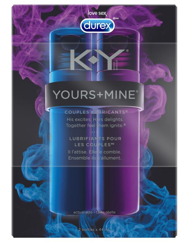 K-Y® Yours + Mine Couples Lubricants® - His (Canada)