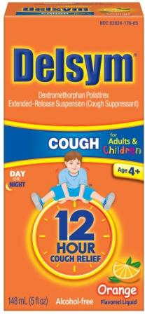 DELSYM® CHILDREN'S Cough Liquid - Orange