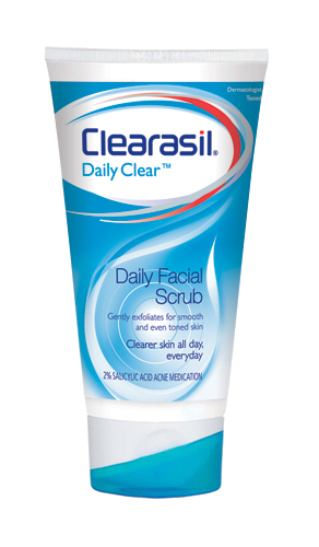 CLEARASIL® DAILY CLEAR® Daily Facial Scrub (discontinued)
