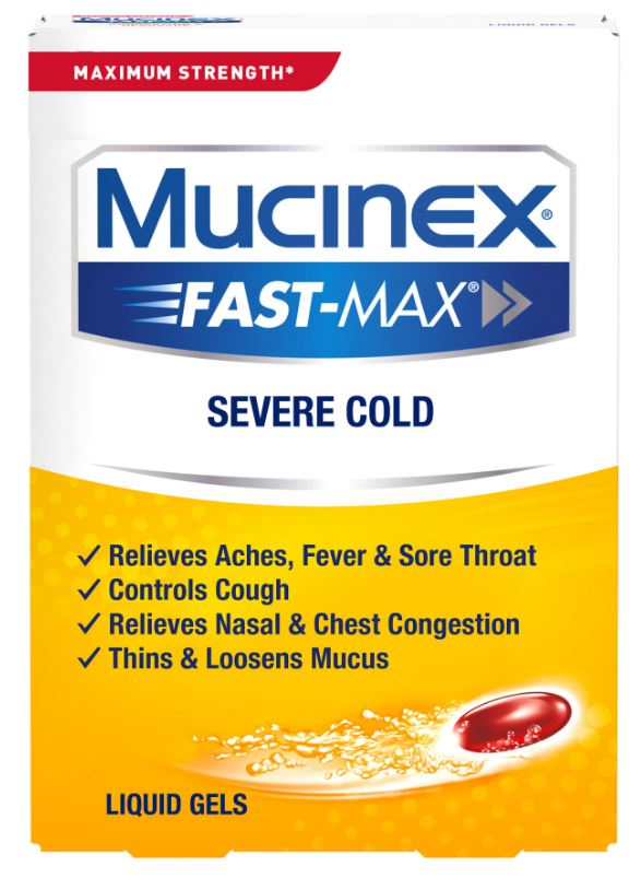 MUCINEX FASTMAX Severe Cold Liquid Gels Photo