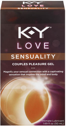 K-Y® Love Sensuality Couples Lubricant