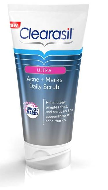 CLEARASIL® Ultra® Acne + Marks Scrub