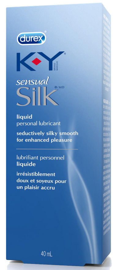 KY Sensual Silk Liquid Personal Lubricant Canada Photo