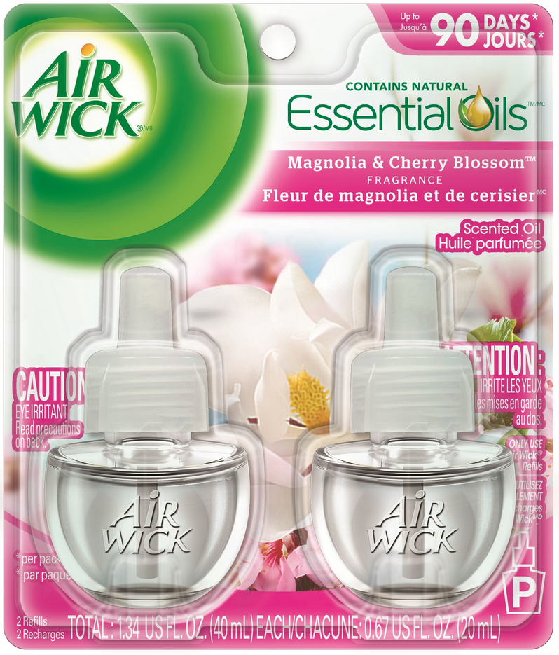 AIR WICK Scented Oil  Magnolia  Cherry Blossom Canada Photo