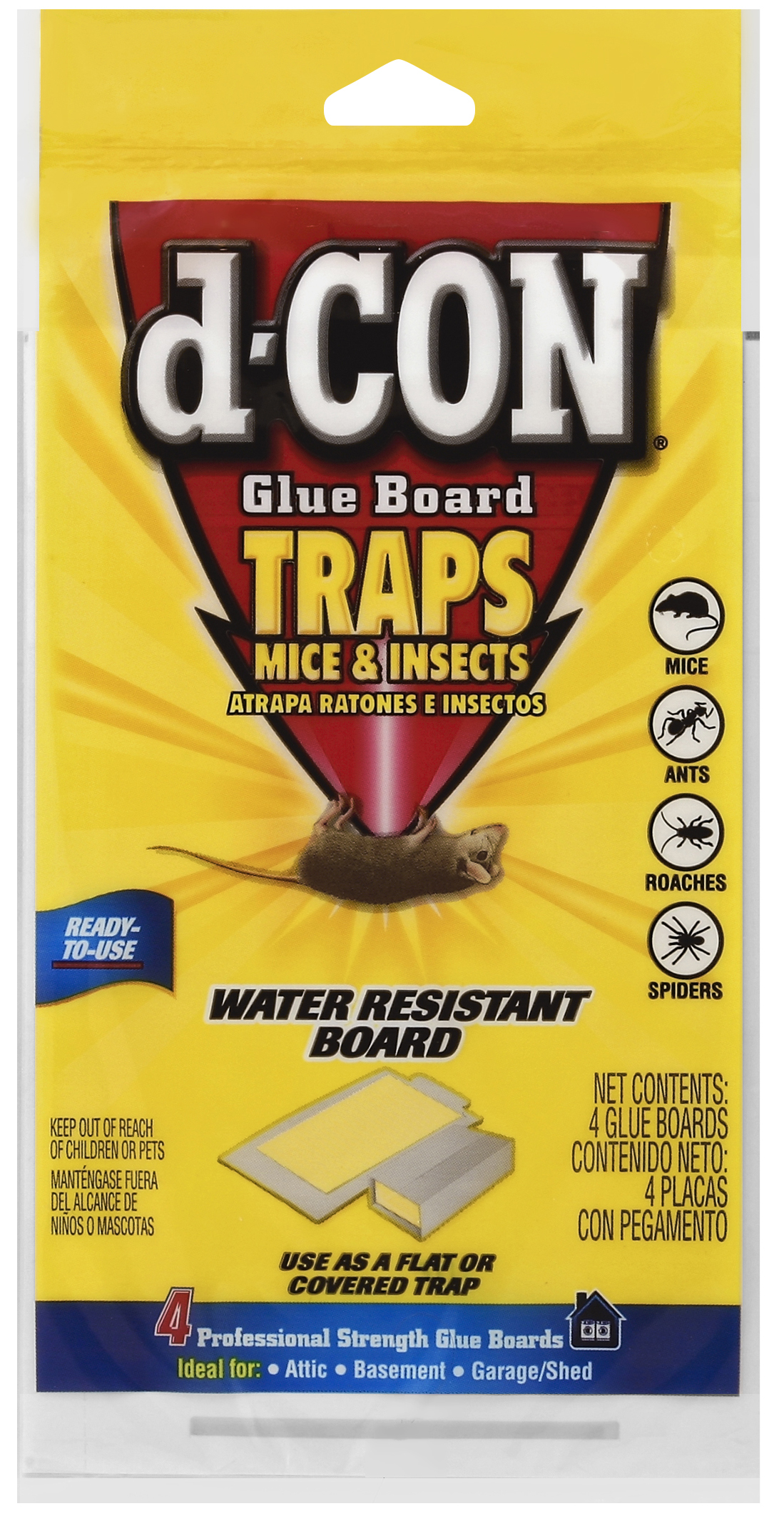 d-CON® Glue Board Traps Mice & Insects