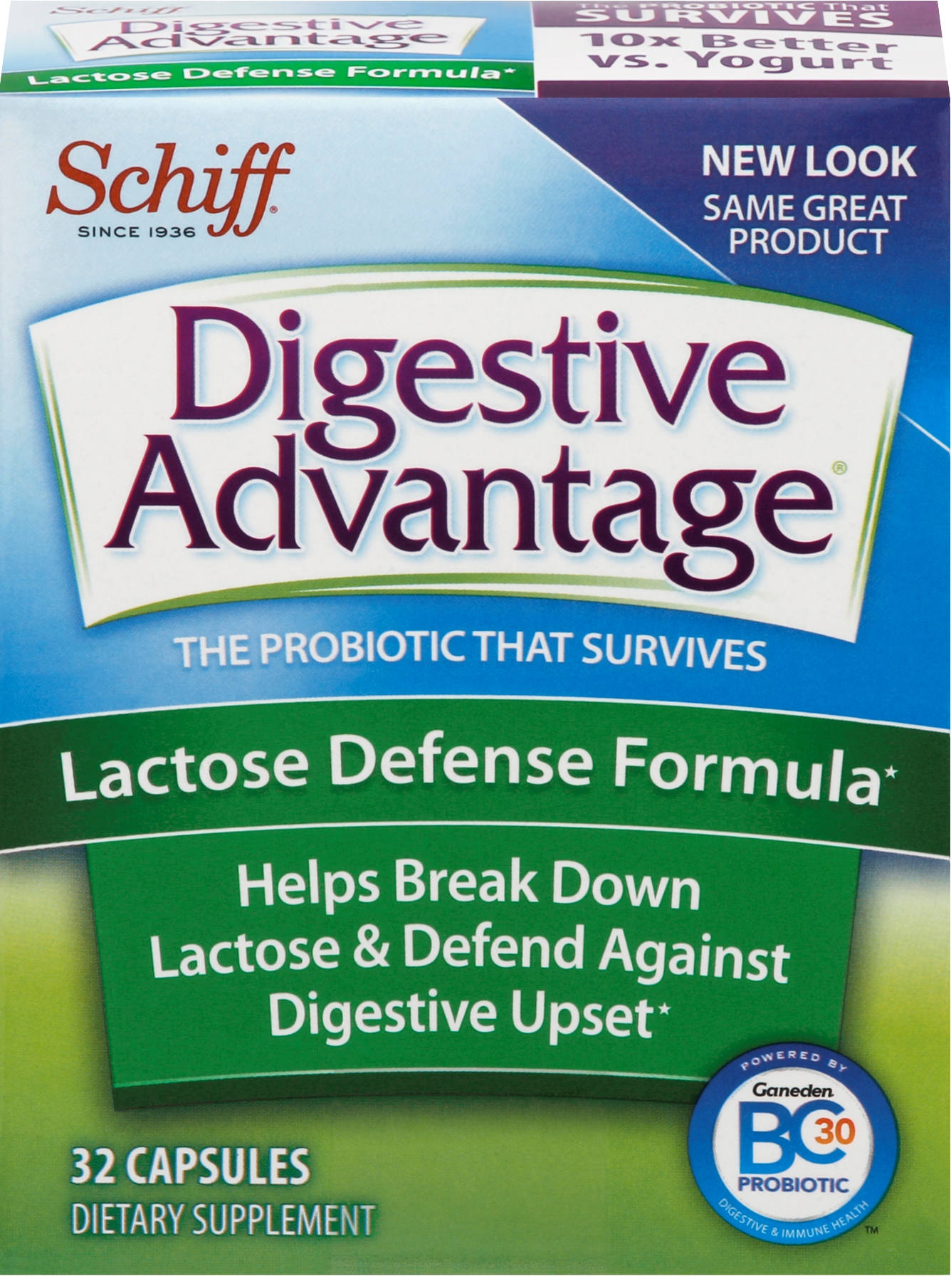 DIGESTIVE ADVANTAGE® Lactose Defense Capsules