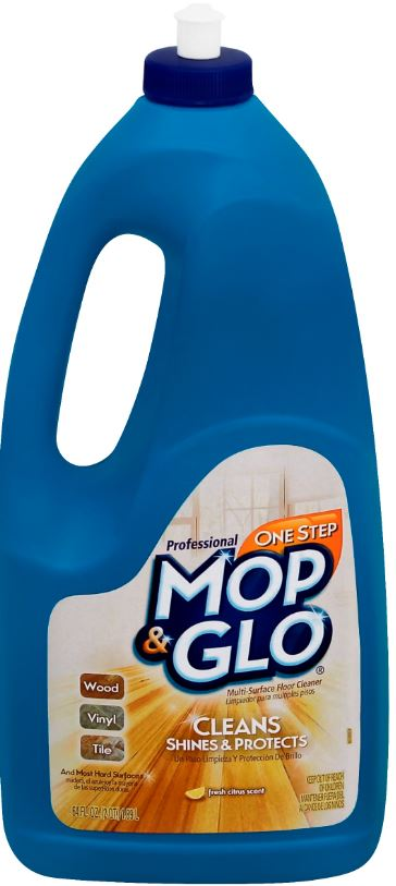Professional MOP  GLO MultiSurface Floor Cleaner  Fresh Citrus Scent Photo
