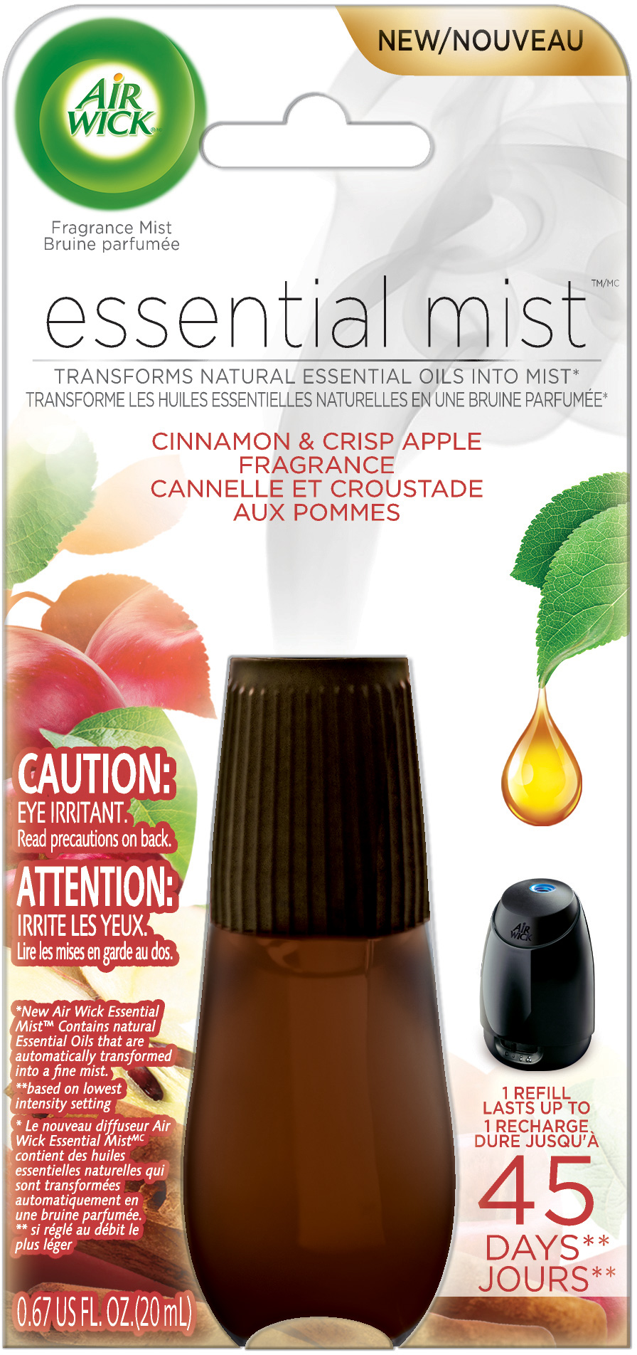 AIR WICK® Essential Mist - Cinnamon & Crisp Apple (Canada)