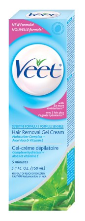 VEET® Gel Cream - Sensitive Skin with Almond Oil (Discontinued)