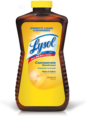 LYSOL Brand Concentrate Disinfectant  Original Scent  Photo