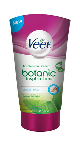 VEET® Botanic Inspirations Hair Removal Cream - Legs & Body (Sensitive Formula)-with Argan Oil