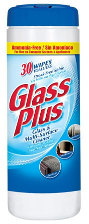 GLASS PLUS® Wipes (Discontinued)