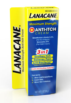 LANACANE® Maximum Strength Anti-Itch Cream