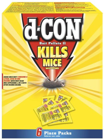 d-CON® Bait Pellets II - 1 oz. Place packs (Discontinued)