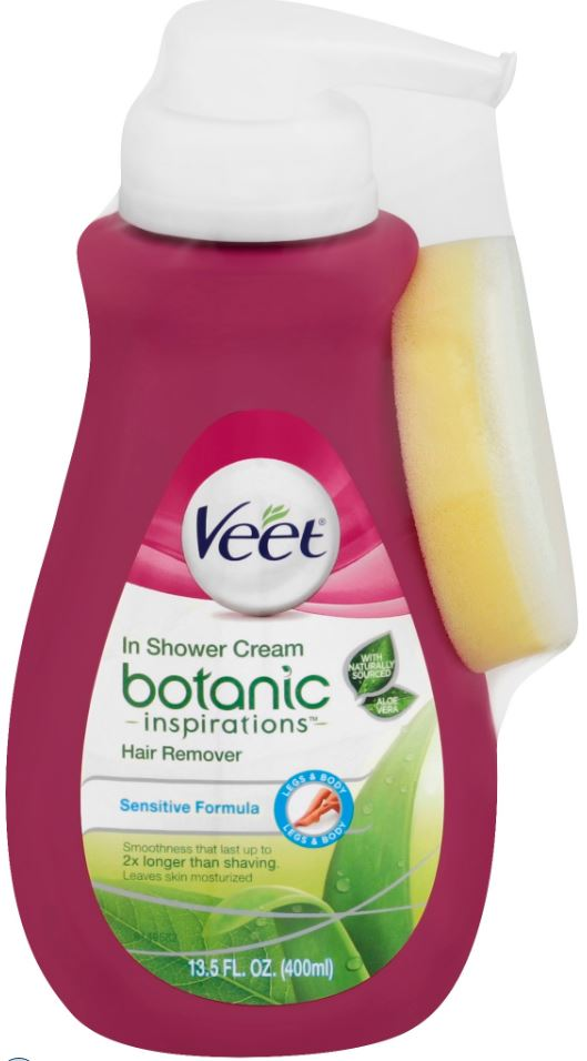 Veet Botanic Inspirations In Shower Cream Hair Remover
