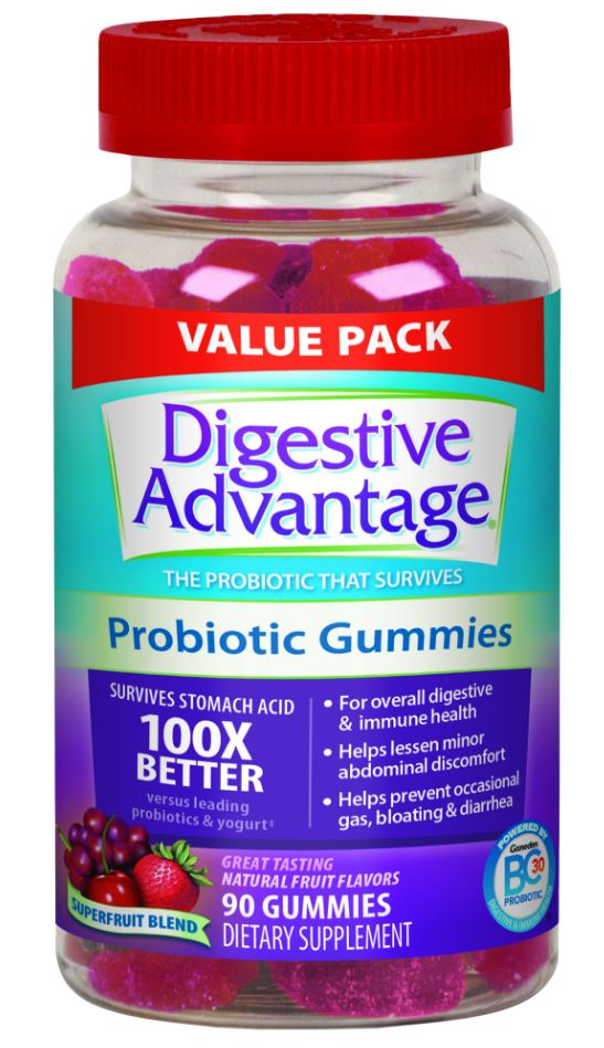 DIGESTIVE ADVANTAGE® Probiotic - Gummies Superfruit Blend