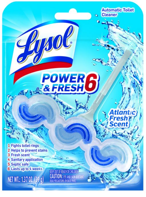 LYSOL® Power & Fresh 6 Automatic Toilet Cleaner - Atlantic Fresh Scent