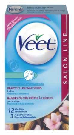 VEET® Ready To Use Wax Strips - Facial - Product A