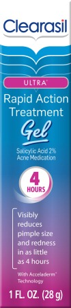 CLEARASIL® Ultra® Rapid Action Treatment Gel