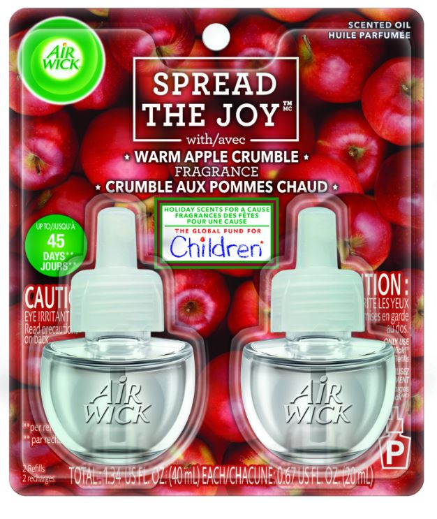 AIR WICK® Scented Oil - Warm Apple Crumble (Spread The Joy™)