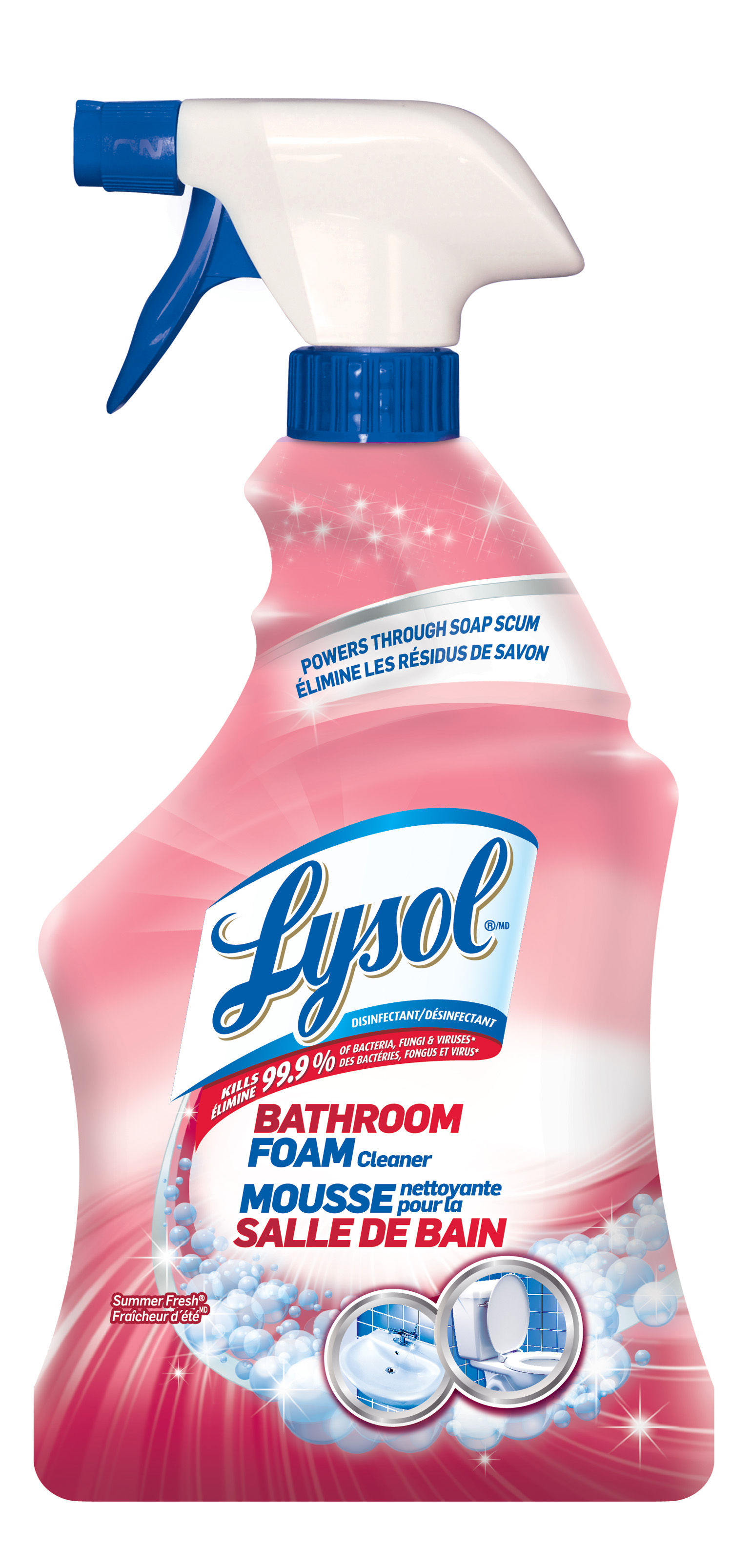 LYSOL® Disinfectant Bathroom Foam Cleaner - Trigger - Summer Fresh (Canada)
