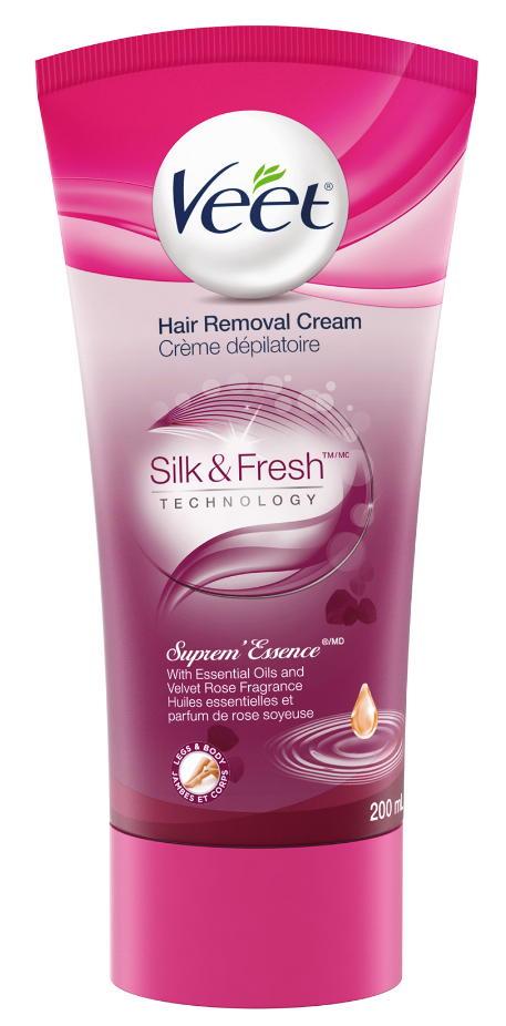 VEET® Silk & Fresh™ Hair Removal Cream Suprem'Essence -tube (Canada)