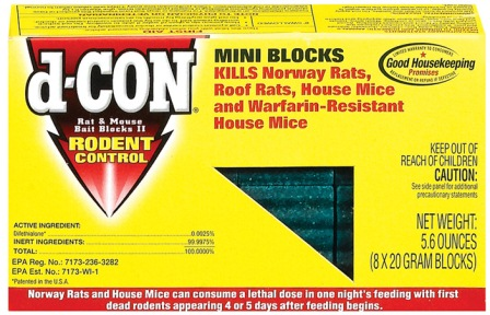 d-CON® Rat & Mouse Bait Blocks II (Discontinued)