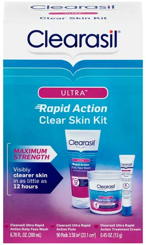 CLEARASIL® Ultra® Rapid Action Clear Skin Kit