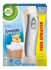 AIR WICK® FRESHMATIC Ultra Starter Kit - Snuggle™ Fresh Linen