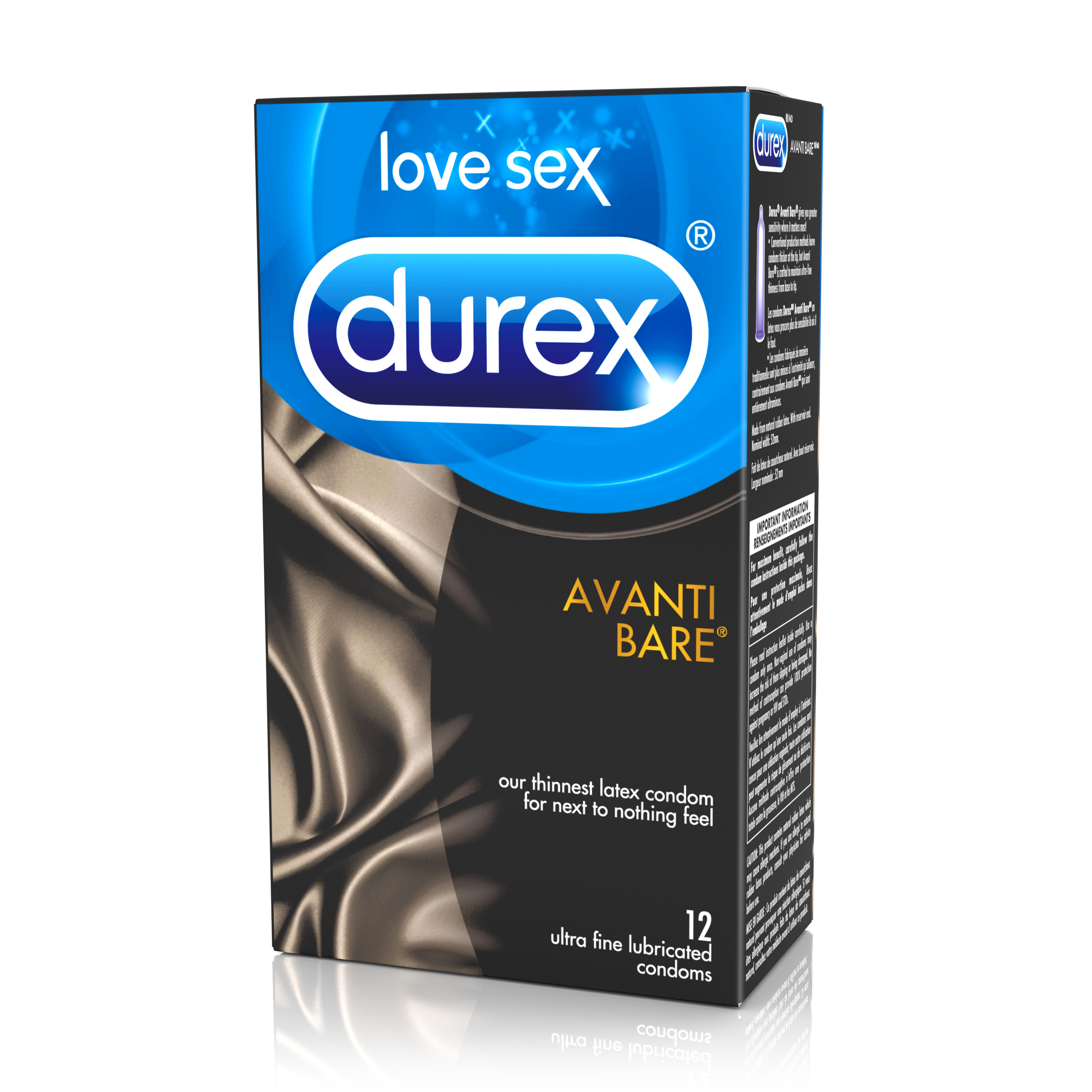 DUREX® Avanti Bare® Lubricated Condoms (Canada)