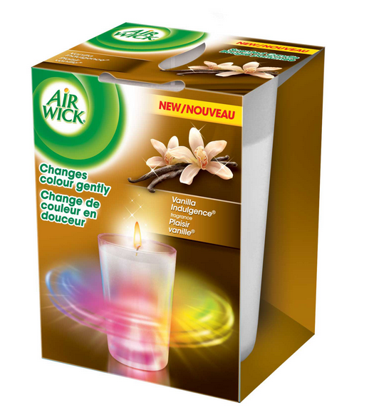 AIR WICK Color Changing Candle  Vanilla Indulgence Canada Photo