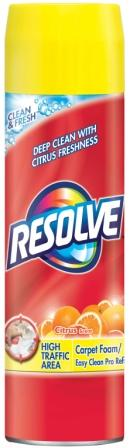 RESOLVE® High Traffic Area Foam Carpet Cleaner - Citrus