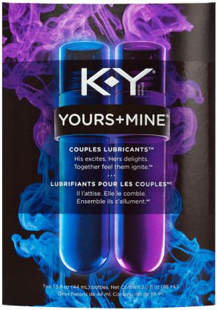 K-Y® YOURS + MINE Couples Lubricants™ (Hers)