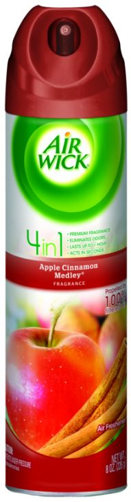 AIR WICK 4 in 1 Air Freshener  Apple Cinnamon Medley Photo
