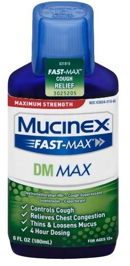 MUCINEX FASTMAX DM Max Liquid Photo