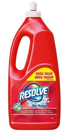 RESOLVE OxiAction PreTreat Laundry Stain Remover  PushPull Canada Photo