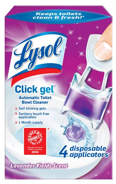 LYSOL® Click Gel Automatic Toilet Bowl Cleaner - Lavender Fields Scent
