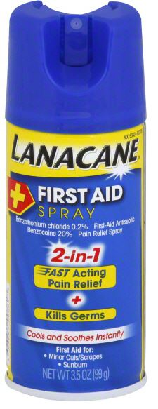 LANACANE® First Aid Spray