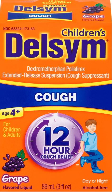 DELSYM Childrens 12 Hour Cough Liquid  Grape Photo