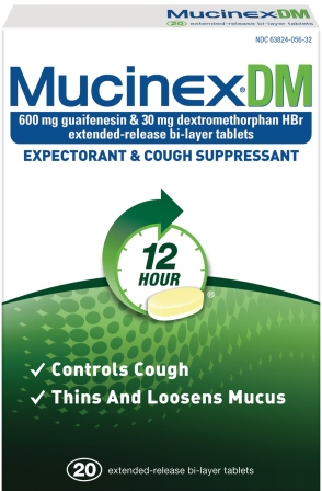 MUCINEX® DM - (600 mg Guaifenesin, 30mg Dextromethorphan HBr)
